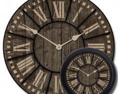 Santa Fe Clock Mix Wanduhren, Extra Große Wanduhr, Große Uhren,  Ziffernblätter, Santa