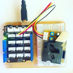 Successful test air quality test on a Seed Grove dust sensor driven by #arduino uno by aobject