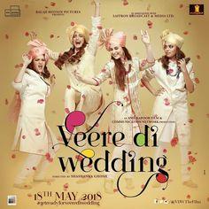 "3,985 Beğenme, 50 Yorum - Instagram'da Veere Di Wedding (@vdwthefilm): ""Badhaai ho, #VeereDiWedding is finally fixed. You're invited 🙏🏼 #GetReadyForVeereDiWedding…"""