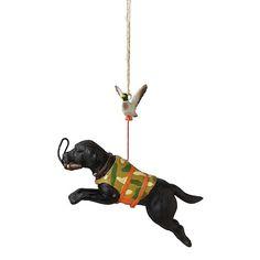 Hunting Dog Christmas Ornaments at Smash Gifts.