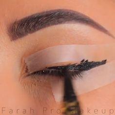 Double Eyeliner, Eyeliner Make-up, Eyeliner Hacks, Eyebrow Makeup Tips, Eye Makeup Steps, Makeup Eye Looks, Best Eyeliner, Skin Makeup, Eyeliner Ideas