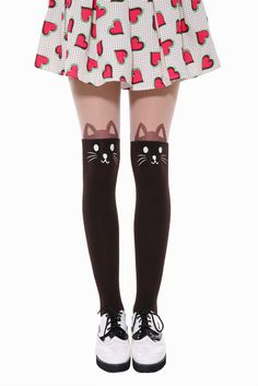 Little Kitty Tights. Free 3-7 days expedited shipping to U.S. Free first class word wide shipping. Customer service: help@moooh.net