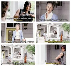 "The Walking Dead 5x12 ""Remember"" Daryl Dixon and Carol"