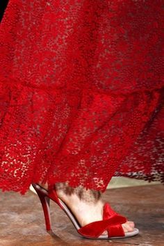 Valentino Detail in Red