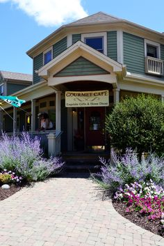 Cobblestone Cafe - in Waynesville, Ohio my favorite place with my favorite sandwich!!!