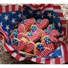 4th of July Cookies! #4thofjuly