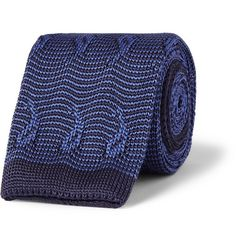 Etro Paisley Knitted Silk Tie | MR PORTER