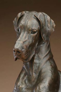 Louise Peterson - Bella and the Bug, life-sized bronze edition