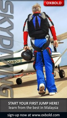 Skydiving Courses Malaysia!   This is that year :)