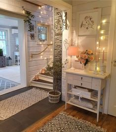 Image uploaded by Andrea Chiquin. Find images and videos on We Heart It - the app to get lost in what you love. Farmhouse Design, Farmhouse Decor, Urban Farmhouse, Farmhouse Style, Best Online Furniture Stores, Furniture Shopping, Affordable Furniture, Decoration Entree, Ideas Hogar