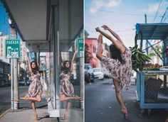 Breathtaking Ballet Dancers on the streets of Puerto Rico by Omar Z Robles. #travelphotography #photography #puertorico #dance #onthestreets #omarzrobles