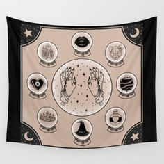 popular astrology Wall Tapestry | Society6
