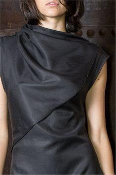 Urban Warrior Chic: AMOTA Wrap Dress