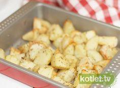 ziołowe ziemniaki z piekarnika