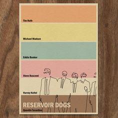 Serbatoio cani 16x12 Movie Poster