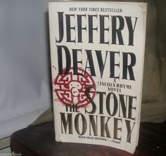 The Stone Monkey by Jeffery Deaver (2003, Paperback)