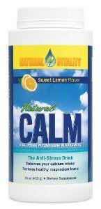 Natural Vitality Natural Calm Lemon 16oz: Amazon.com: Grocery & Gourmet Food