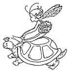 Fairy on Tortoise Rubber Craft  Stamps - Rubber Stamps Direct http://www.stampsdirect.co.uk/fairy-on-tortoise-rubber-stamp-721-p.asp