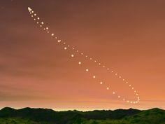 mandaladana: Analemma. The sun's position in the sky,...
