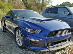Salvage 2015 Ford Mustang Gt Roush
