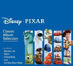 Know someone who loves their Pixar movies? The Disney Pixar Classic Album Selection Wall E, Pixar Movies, Cool Things To Buy, Stuff To Buy, Kid Stuff, Finding Nemo, Toy Story, Disney Pixar, Cool Kids
