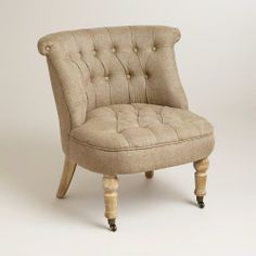 Flax Vanity Chair