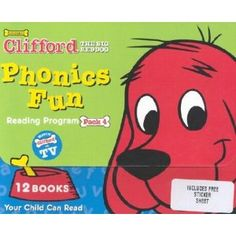 Clifford's Phonics Fun, Pack 4 (12 Book Set) (Paperback)  http://goldsgymhours.com/amazonimage.php?p=0439405181  0439405181
