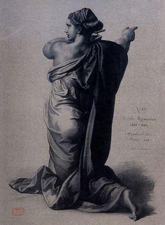 Plate II, 11. Raphael (1483-1520), Kneeling Woman. (Figure de femme agenouillée.) Pinacoteca Vaticana, Vatican City.