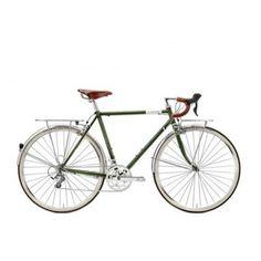 Creme Cycles Lungo dark green - Trekkingrad im Biker-Boarder Shop kaufen Touring Bicycles, Touring Bike, Dutch Bike, Biker, Retro Bike, Shops, Online Bike Store, Cargo Bike, Classic Bikes