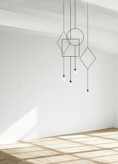 Part of the Symmetry minimalist lighting series from Finnish designer Hannakaisa Pekkala. The design took First Place in the Northern Lighting Design Award Interior Lighting, Home Lighting, Modern Lighting, Lighting Design, Pendant Lighting, Pendant Lamps, Symmetry Design, Diy Lampe, Lamp Design