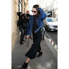 In Roberi & Fraud Sunglasses And A Dior Bag - In Paris, 2017