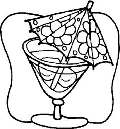 juice coloring page - 1000 images about drinks coloring pages on pinterest