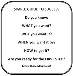 It is that simple - just follow the steps!