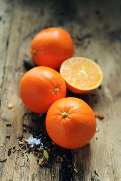 Suprêmes d'oranges au sirop chaï impérial parce que c'est le temps des.