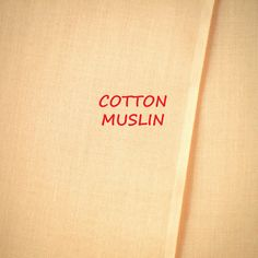 1-1/3 YARDS, MUSLIN, Light Peach, Semi Sheer Craft or Fashion Fabric, Lightweight Cotton, B33 by DartingDogFabric on Etsy