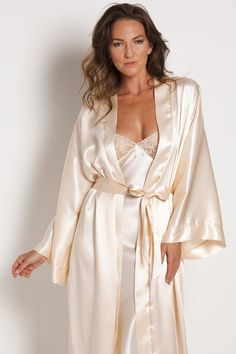 fa1fefb59b 45 Best Satin nitegowns   robes images
