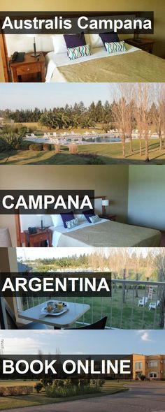 Hotel Australis Campana in Campana, Argentina. For more information, photos, reviews and best prices please follow the link. #Argentina #Campana #travel #vacation #hotel