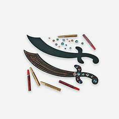 Pirate Sword Craft Kit