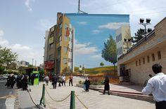 Iran's best street artist Mehdi Ghadyanloo comes to London