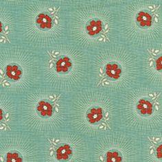 Tissus fleuris, FAT QUARTER PATCHWORK FREE SPIRIT DEER VALLEY est une création orginale de Revedepatch- sur DaWanda