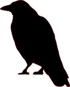 (clip art crow) The Birds