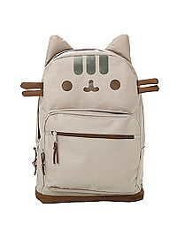 776b20cc0dfc1 HOTTOPIC.COM - Pusheen Face Backpack Moda Kawaii, Poradniki Na Temat Toreb,  Geek