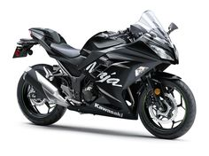 2017 NINJA® 300 ABS WINTER TEST EDITION Sport Motorcycle by Kawasaki