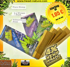 http://www.head-shop.eu/tree/477/Kingpin-Blunts/  Take this, miserable tobacco dependence!  ☀   Kingpin Pure Hemp Blunts  ☀   100 % Tobacco Free  ☀   4 Blunts Per Pack   ☀   Resealable Aroma Packaging