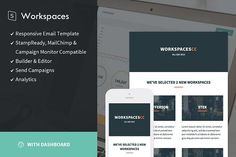 Workspaces + StampReady Builder by StampReady Templates on @creativemarket