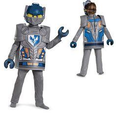 Boys Deluxe Nexo Knights Clay Costume – LEGO