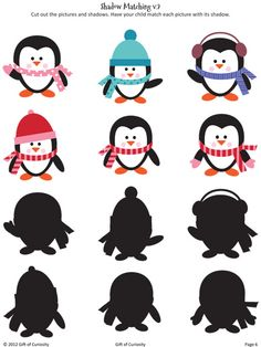 Winter Printables Pack with more than 70 winter activities for kids! - Gift of Curiosity