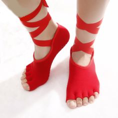 Ankle Grip Ribbon Non-Slip Socks    https://zenyogahub.com/collections/yoga-socks/products/ankle-grip-ribbon-non-slip-socks