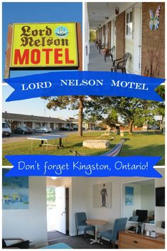If Kingston isn't on your radar, it should be! And we found Lord Nelson Motel to be one of the most reasonable motels with all the amenities you could want. Family Destinations, Bucket List Destinations, Amazing Destinations, Kingston Ontario, Travel Tips For Europe, Newfoundland And Labrador, Quebec City, Banff, Canada Travel
