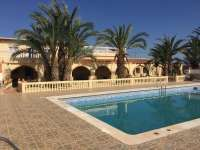 Beautiful large country house with plot for sale in San Isidro, Alicante, Spain